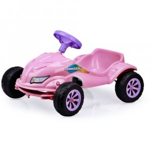 Carro A Pedal Speed Play Rosa 4054